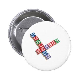 Social network pin