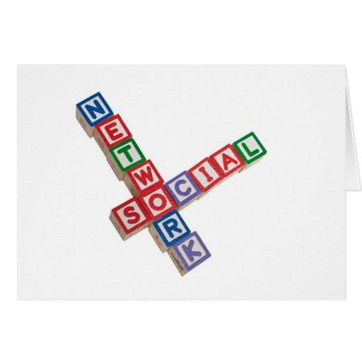 Social network card