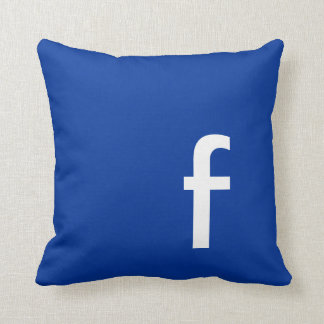 Social Network Geek Icon Pillow