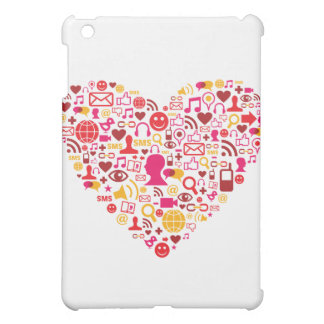 Social Network Heart Cover For The iPad Mini
