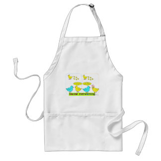 Social Networking Adult Apron