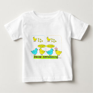 Social Networking Baby T-Shirt