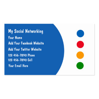 Social Networking Business Cards