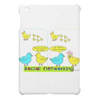 Social Networking iPad Mini Cover