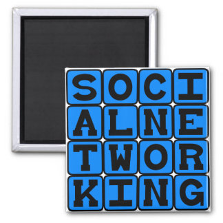 Social Networking Magnet