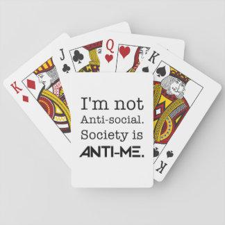 Social no anti naipes