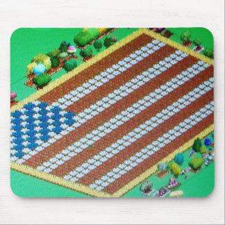Social Online Farm Crop Flag Mouse Pad