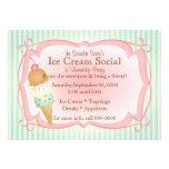 ¡Social pasado de moda del helado!