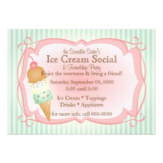 ¡Social pasado de moda del helado