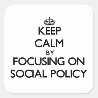 SOCIAL-POLICY101329441.png Pegatina Cuadrada