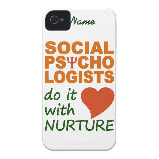 Social Psychologists custom iPhone 4 Case-Mate