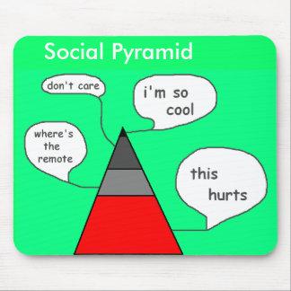 Social Pyramid Mousepad