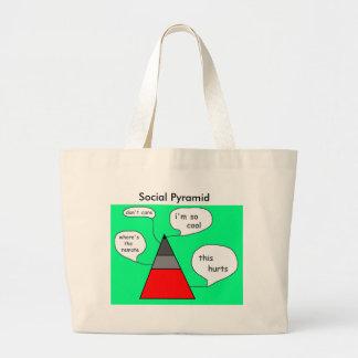 Social Pyramid Tote