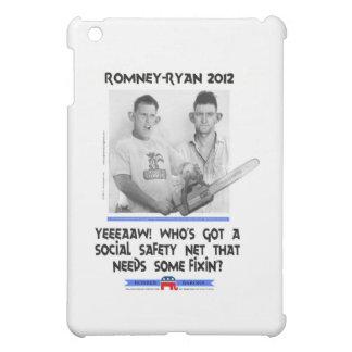 social safety net ryan romney tshirt.jpg iPad mini cover