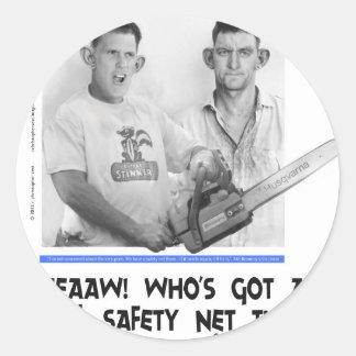 social safety net ryan romney tshirt.jpg sticker