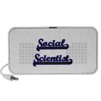 Social Scientist Classic Job Design iPhone Speaker
