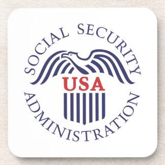 Social Security Administration Beverage Coaster