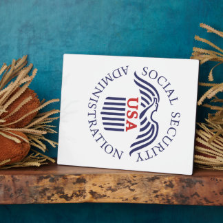 Social Security Administration Plaque