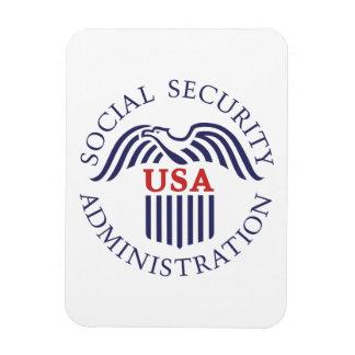 Social Security Administration Rectangular Photo Magnet