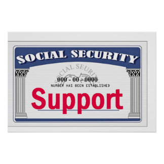 Social Security POSTER Print