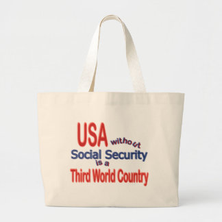 Social Security USA! Personalize Background. Bags