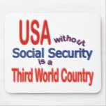Social Security USA! Personalize Background. Mouse Pad