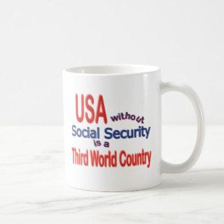 Social Security USA! Personalize Background. Mug