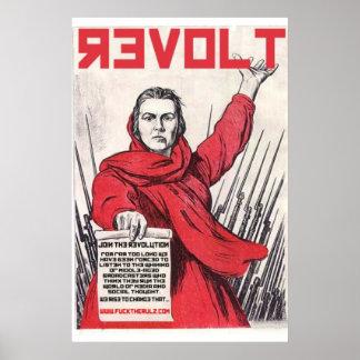 Social Shakedown Lady Revolution Poster