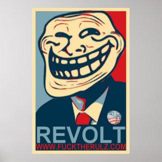 Social Shakedown Revolt Poster