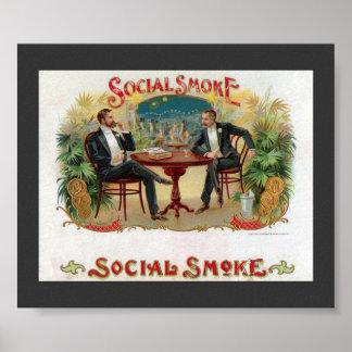 Social Smoke Poster