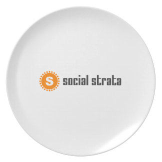 Social Strata swag Party Plate