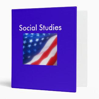 Social Studies 3 Ring Binder