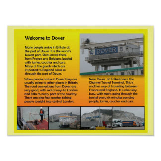 Social Studies, Geography, Welcome to Dover Print