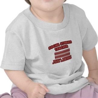 Social Studies Teacher Will Work For Bacon T Shirts