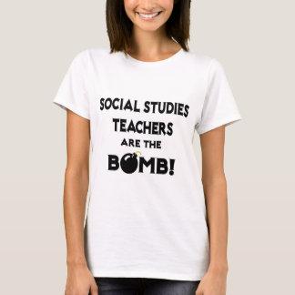Social Studies Teachers Are The Bomb! T-Shirt