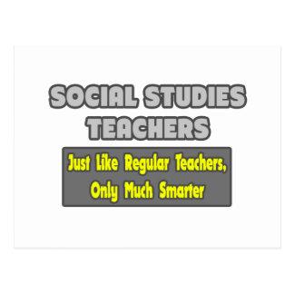 Social Studies Teachers...Smarter Postcard