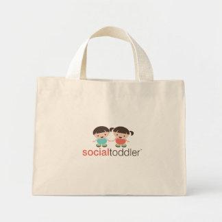 Social Toddler Tote Bag