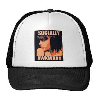Social torpe gorras