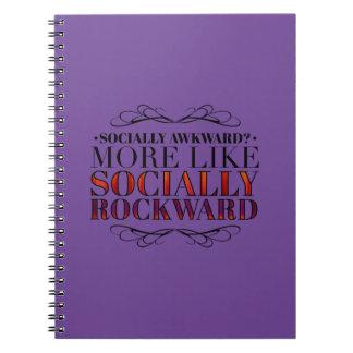 ¿Social torpe? Note Book