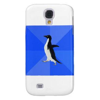 Social-Torpe-Pingüino-Meme Funda Para Galaxy S4