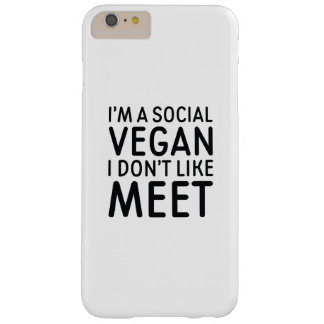 Social Vegan Barely There iPhone 6 Plus Case