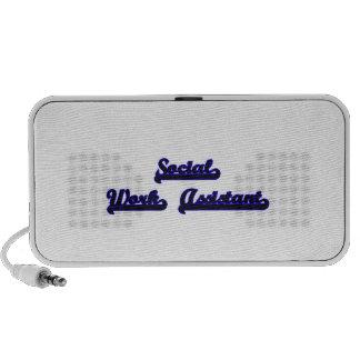 Social Work Assistant Classic Job Design Portable Speaker
