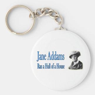 Social Work: Jane Addams Ran a Hull of a House Keychain