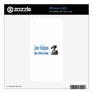 Social Work: Jane Addams Ran a Hull of a House Skin For iPhone 4