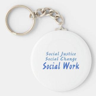 Social Work Keychain