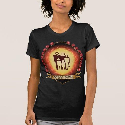 Social Work Mandorla T Shirt