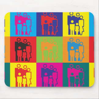 Social Work Pop Art Mouse Pad