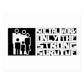Social Work Survive Postcard