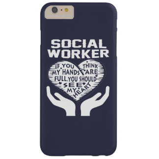 Social Worker Barely There iPhone 6 Plus Case