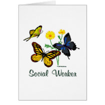 Social Worker Butterflies